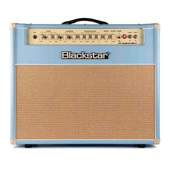 Blackstar HT Club 40 mk2 Black & Blue Edition