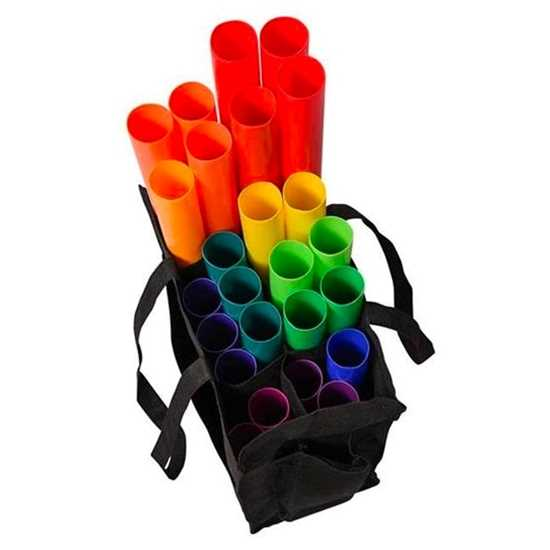 Boomwhackers Basic School Set 28 tubes