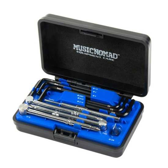 Music Nomad Premium Guitar Tech Truss Rod Wrench Set