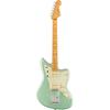 Fender American Professional II Jazzmaster® Maple Fingerboard Mystic Surf Green