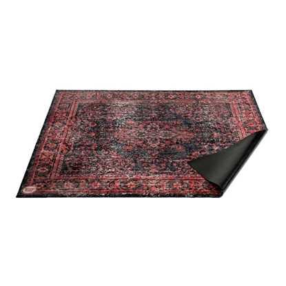 Drumnbase VP185-BLR 185x160 cm Vintage Persian Black/Red Trummatta