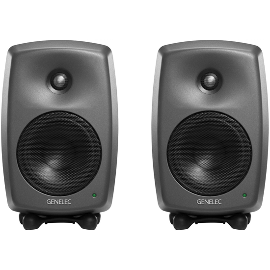 Genelec 8330 Dark Grey SAM Kit Studiomonitor