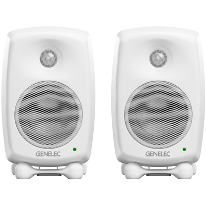 Genelec 8320 SAM™ Bundle White Studiomonitor