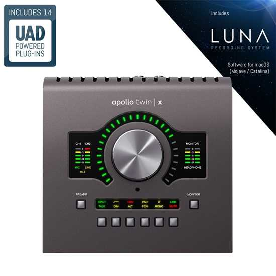 Universal Audio Apollo Twin X Quad Heritage Edition