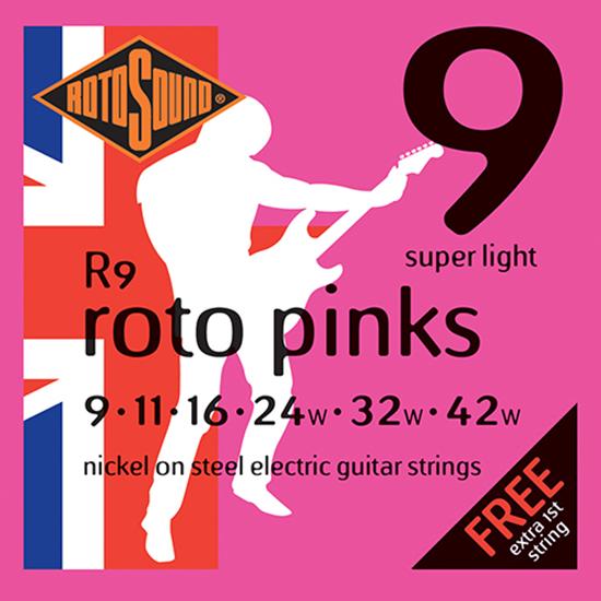 Rotosound Roto Pinks 9-42