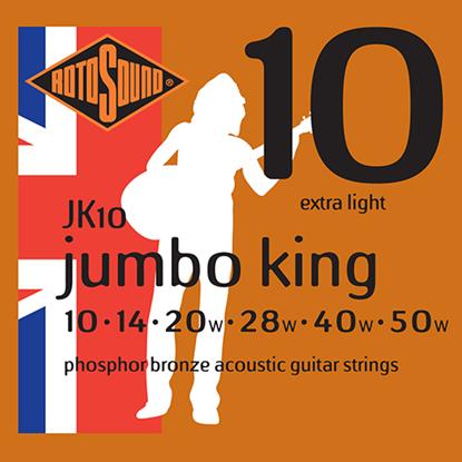 Rotosound Jumbo King JK10 Extra Light 10-50