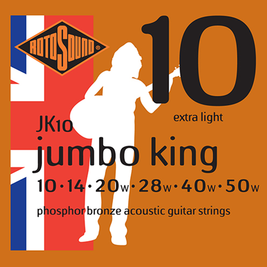 Rotosound Jumbo King JK10 Extra Light 10-50