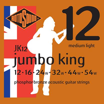 Rotosound Jumbo King JK12 Medium Light 12-54