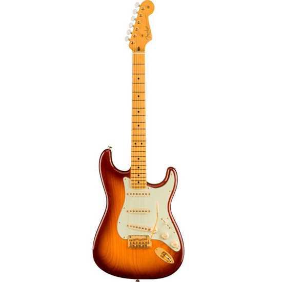 Fender 75th Anniversary Commemorative Stratocaster® Maple Fingerboard 2-Color Bourbon Burst