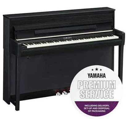 Yamaha CLP-785 Matt Svart