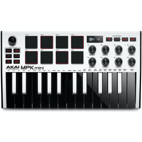Akai MPK Mini mk3 White