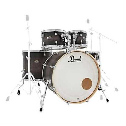 Pearl Decade Maple DMP925S/C262 Satin Black Burst