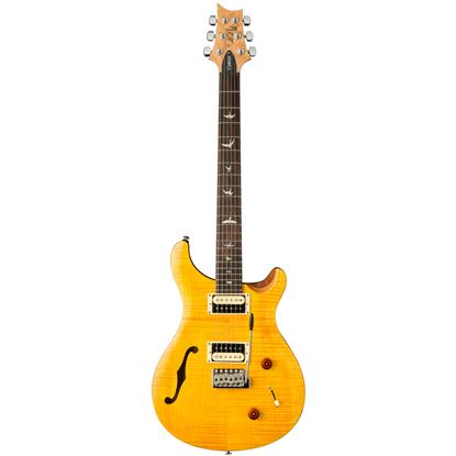 PRS SE Custom 22 Semi-Hollow Santana Yellow