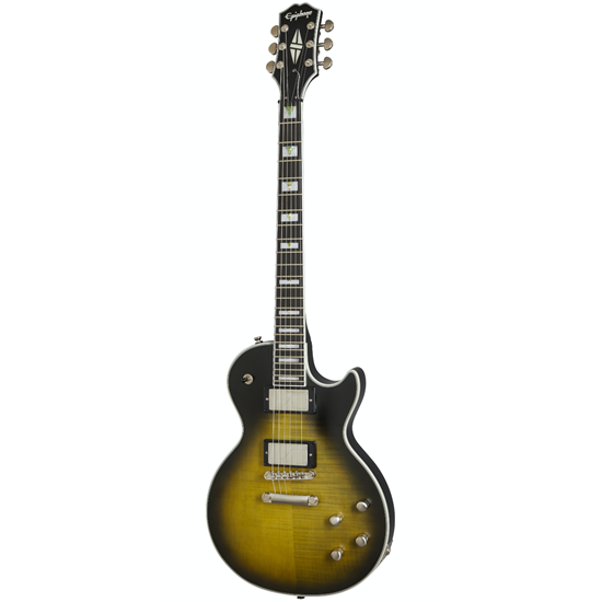 Epiphone Les Paul Prophecy Olive Tiger Aged Gloss