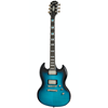 Epiphone SG Prophecy Blue Tiger Aged Gloss