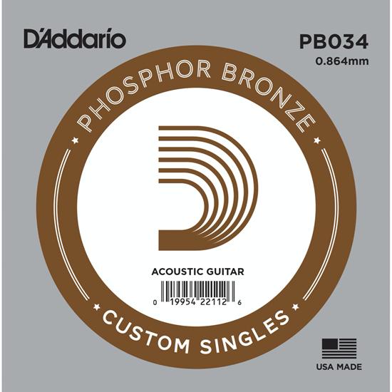 D'Addario PB034 Phosphor Bronze