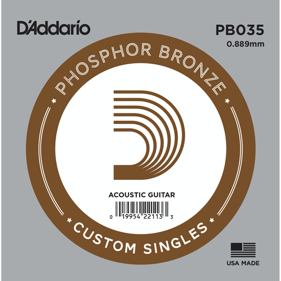 D'Addario PB035 Phosphor Bronze