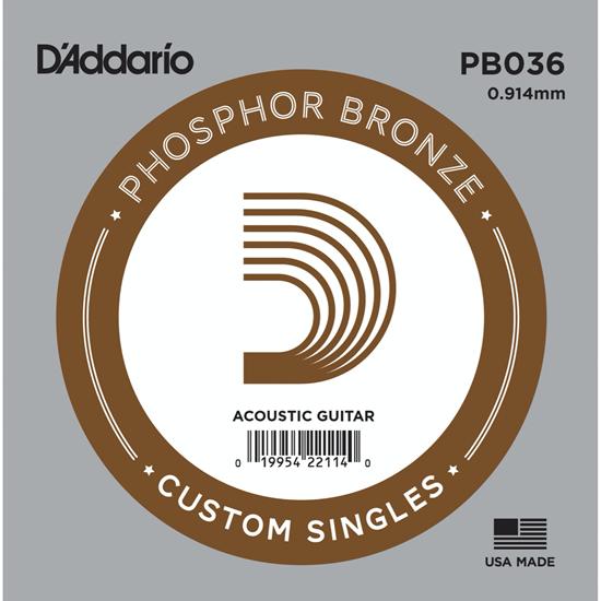 D'Addario PB036 Phosphor Bronze