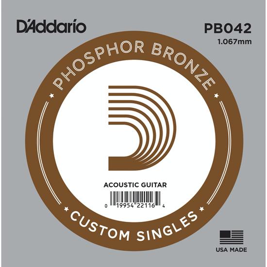 D'Addario PB042 Phosphor Bronze
