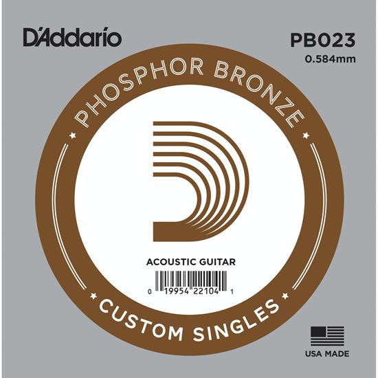 D'Addario PB023 Phosphor Bronze
