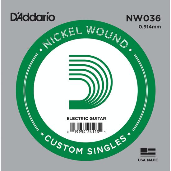 D'Addario NW036 Nickel Wound