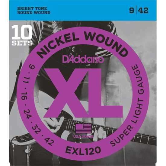 Bild på Strängset Elgitarr EXL120-10Pack