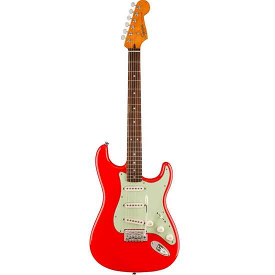 Squier Classic Vibe '60s Stratocaster® Laurel Fingerboard Fiesta Red Limited Edition