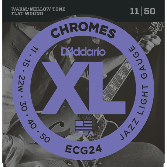 D'Addario ECG24 Chromes Jazz Light