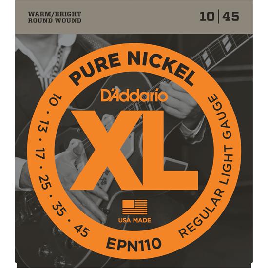 D'Addario EPN110 Pure Nickel