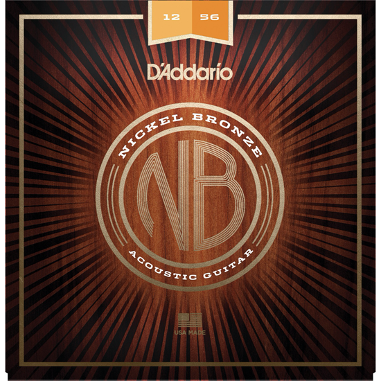 D'Addario NB1256 Nickel Bronze