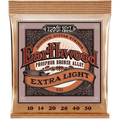 Ernie Ball 2150 Extra Light Earthwood Phosphor Bronze