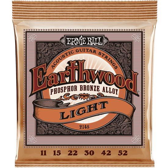 Ernie Ball 2148 Light Earthwood Phosphor Bronze
