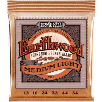 Ernie Ball 2146 Medium Light Earthwood Phosphor Bronze 012-054